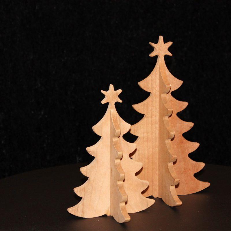Juletræer, julehygge, indretning