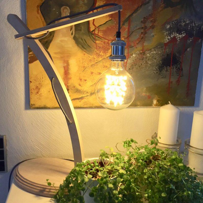 Hyggebelysning til hjemmet, læselampe, bordlampe, designlampe